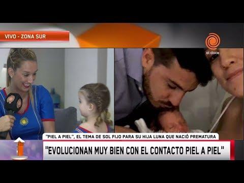 """""""Piel A Piel"""", La Canción De Sol Fijo A Su Hija Que Nació Prematura"""