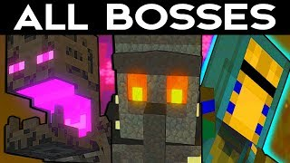 Minecraft Storymode Season 2 Episode 4 - ALL BOSSES / FINAL BOSS
