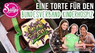 Torte für den Bundesverband Kinderhospiz ❤️ / grüne Bande / sallys Welt