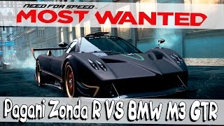 Need For Speed Most Wanted 2012┃PAGANI ZONDA VS BMW M3 GTR┃#30