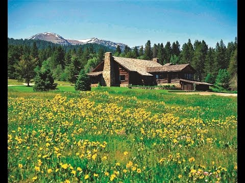 The Historic Crescent H Ranch Lodge in Jackson, Wyoming