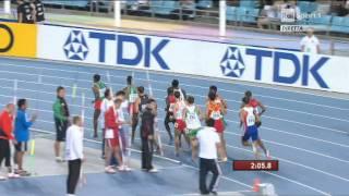 1500 metres men semifinal heat 1 iaaf world championships daegu 2011