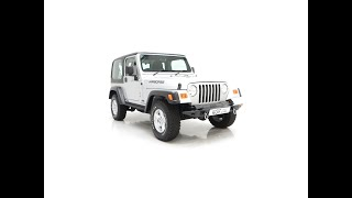 Possibly the Best Jeep Wrangler TJ Jamboree with One Owner and 2,647 Miles - £21,995