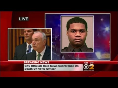 Officials Give Update On Shooting Of NYPD Cop