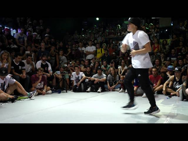 Outbreak Europe 2015 1vs1 Bgirl Final | Terra (UK) vs Sunny (USA)