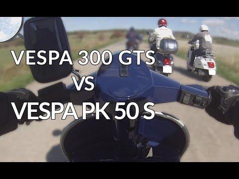 [Belgian Vespa Days ] I overtake a Vespa GTS  on my PKS!