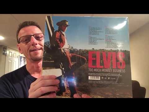 Elvis Presley Sealed To Revealed FTD Too Much Monkey Business Vinyl LP. The King's Court