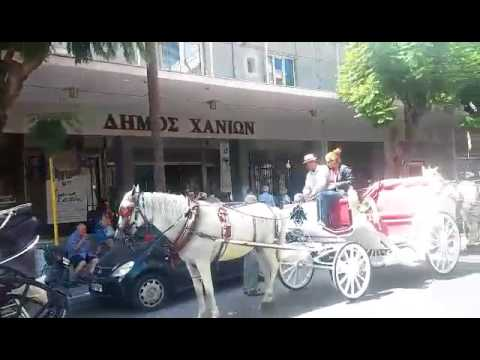 Πορεία αμαξάδων στο κέντρο της πόλης