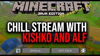 Chilling in Minecraft feat. KISHKO & Alf