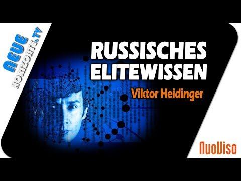 Geheimes russisches Elitenwissen Teil 2 - Viktor Heidinger