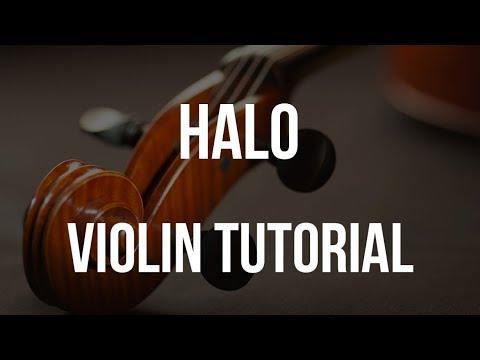 How to play Halo (Beyonce) on Violin