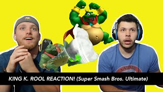 KING K. ROOL REACTION! (Super Smash Bros. Ultimate)