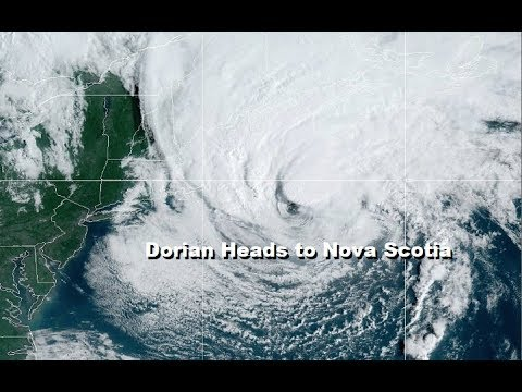 Dorian Offshore Nova Scotia Newfoundland Bound, Dry Weather Returns to the  East This Weekend