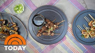 How To Grill With Skewers, From Chicken To Scallops To Steak | TODAY