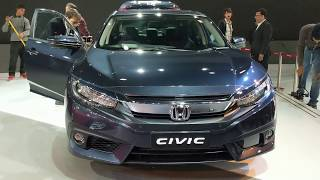 2018 Honda Civic Review in Hindi | Auto Expo 2018 | MotorOctane