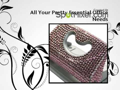 Wholesale Bling Stationery for the Office Princess.mp4