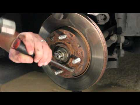 How to Replace Front Brakes Hyundai 01-06