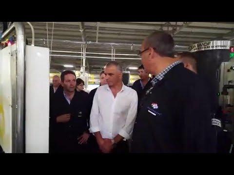 Sea Dream Fisheries - Israeli Minister of Finance Visit At Sea Dream Facilities (11/2017)