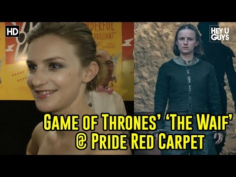 Faye Marsay the Waif   Red Carpet Pride Premiere