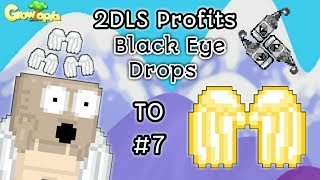 Growtopia | Road to Golden Angel #7 - Lazy METHOD Black Eye Drops