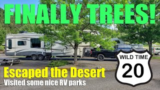 Escaping the Desert Heat - to the Northwest | Wild Time 20 - Full-Time RV Travel
