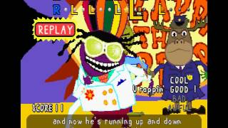 PaRappa the Rapper (PSX) - Stage 6 Cool Mode - You Gotta Believe!