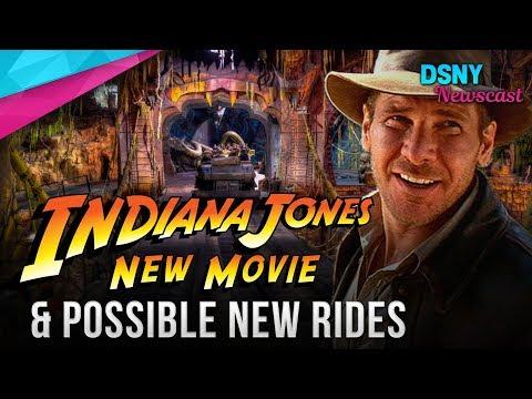 Evaluating New INDIANA JONES Movie & Possible Rides At Disney Parks - Disney News - 10/25/18