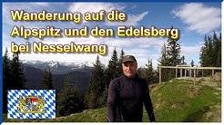 Wanderung auf die Alpspitz und den Edelsberg bei Nesselwang 2018