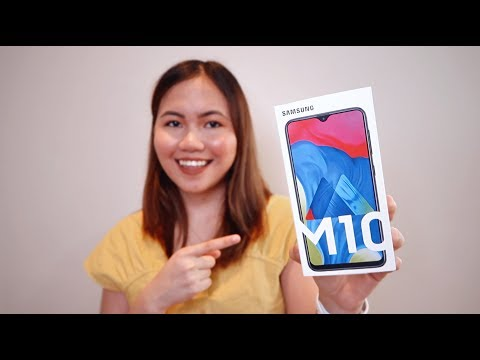 SAMSUNG GALAXY M10 UNBOXING & QUICK REVIEW