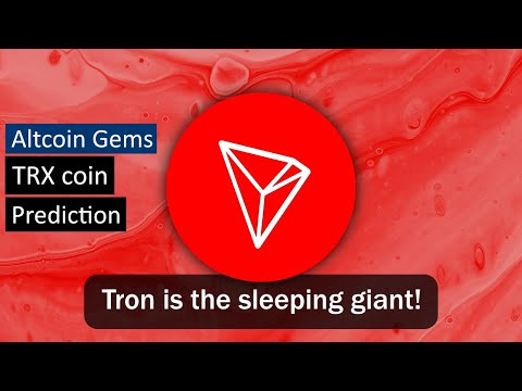 What is TRON? | TRX Price Prediction | Altcoin Gems
