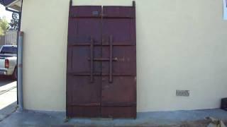 Huge Chinese Antique Gate Screen Door Panel Wk1932 Back