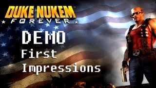 LGR - Duke Nukem Forever Demo - First Impressions & Playthrough