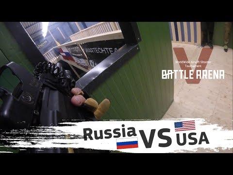 [RUS]  Россия VS Америка. Такого финала никто не ожидал. Схватка глазами каждого игрока
