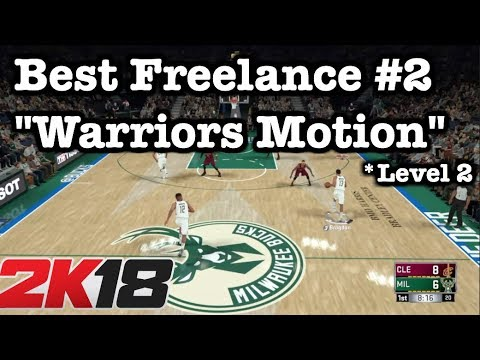 NBA 2K18 Best Freelance Offense Tutorial: 2K18 Money Plays: Best 2K18 Defense breaker
