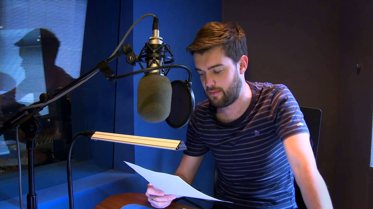 Jack Whitehall and Michael Whitehall in the Studio