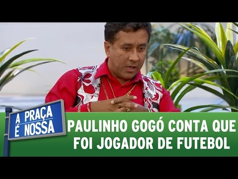 A Praça é Nossa (04/08/16) - Paulinho Gogó conta que foi jogador de futebol