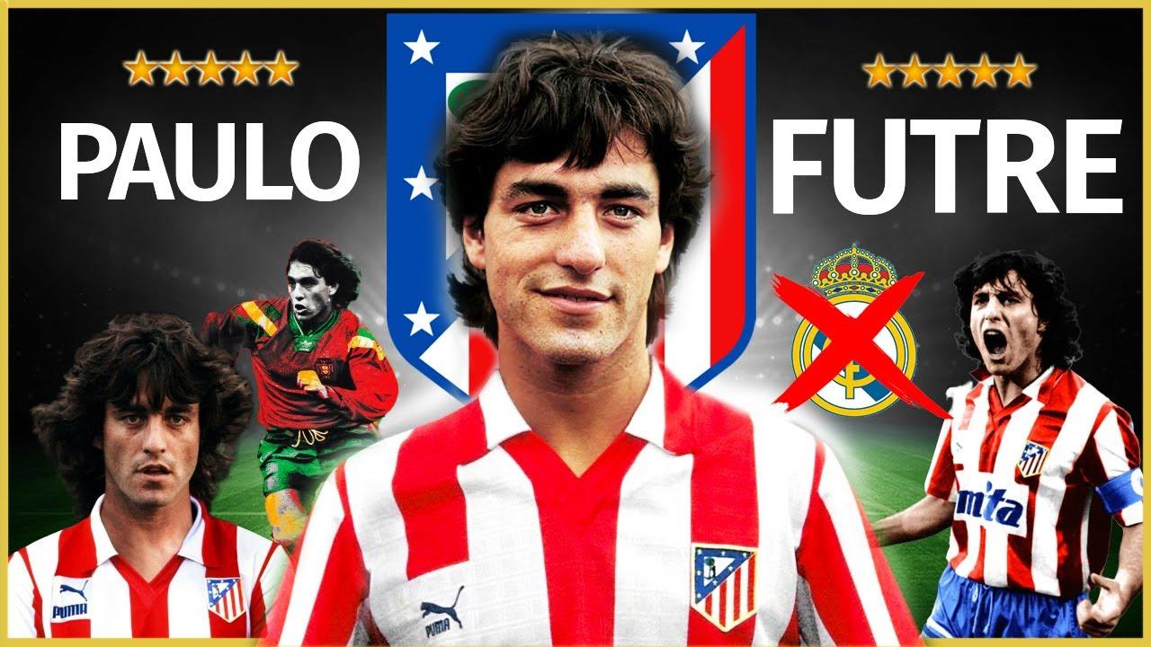 """PAULO FUTRE 🇵🇹 ⭐ El """"PADRE"""" de JOAO FÉLIX (Leyenda del ATLÉTICO DE MADRID)"""