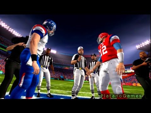 NFL Pro Bowl 2013 - AFC Conference vs NFC Conference - 1st Qrt - Madden NFL - HD