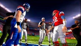 NFL Pro Bowl 2013 - AFC Conference vs NFC Conference - 1st Qrt - Madden NFL - HD