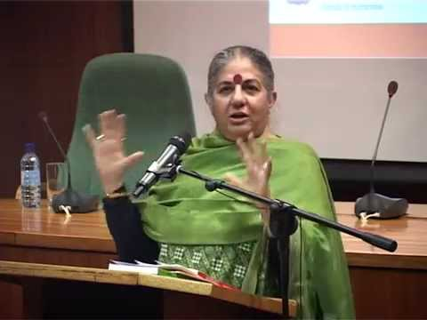 Rethinking development in the 21st century - Vandana Shiva at the Governance Innovation Week 2014