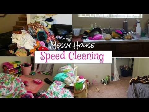 Cleaning Motivation/ Speed cleaning My Messy House/ Real life Cleaning /Realistic Speed cleaning