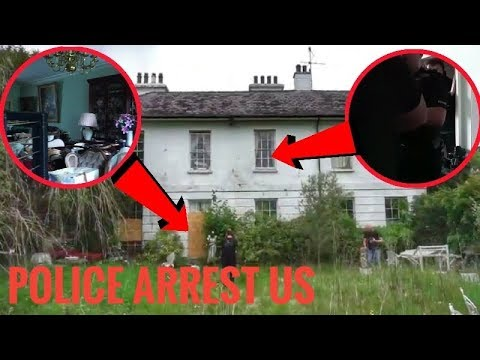 Police Arrest Us While Exploring An Abandoned Mansion (This Was Crazy)