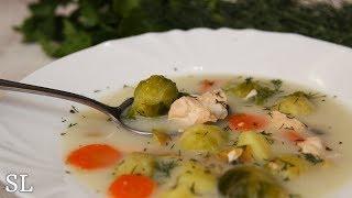 Чудо Суп! Такой Можно Есть хоть Каждый День! Сливочный Суп с Горбушей. Рецепт