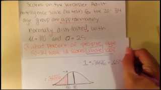 Z-score Calculations