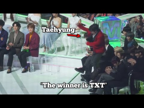 award shows but its only taehyung
