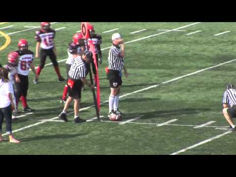 Pee Wee Sept15 Eagles vs Stamps