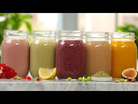 5 Secret Ingredient SMOOTHIE Recipes | Healthy Breakfast Ideas
