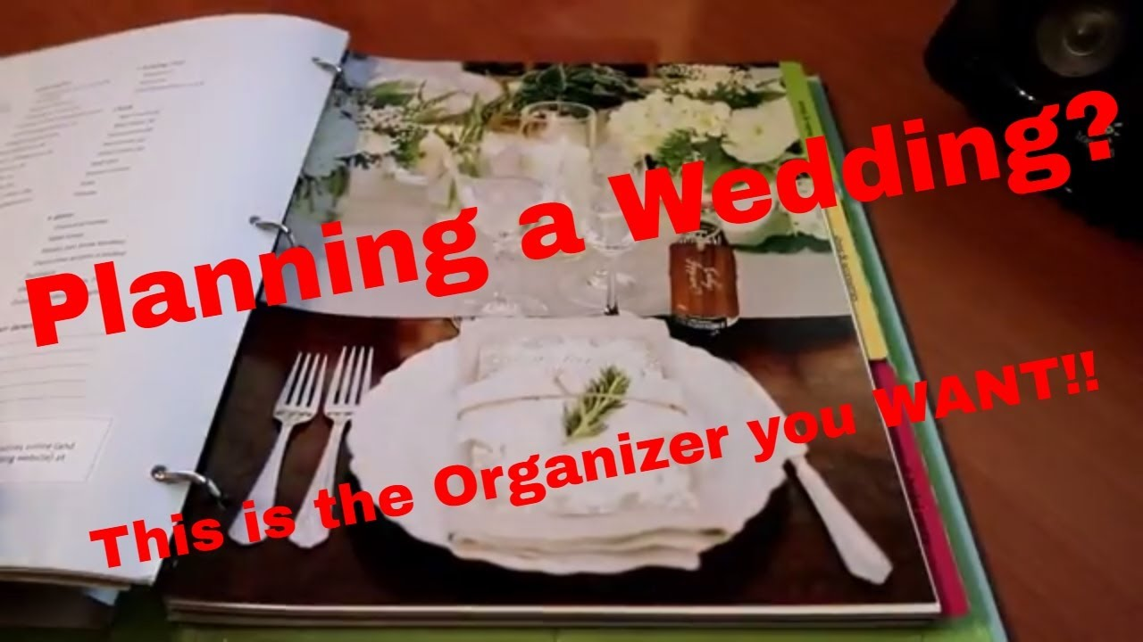 The Knot Ultimate Wedding Planner Organizer Review YouTube