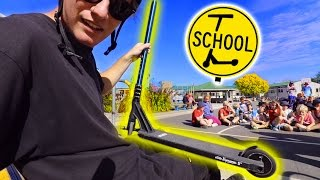 SCHOOL GETS CANCELLED SO WE CAN RIDE SCOOTERS!