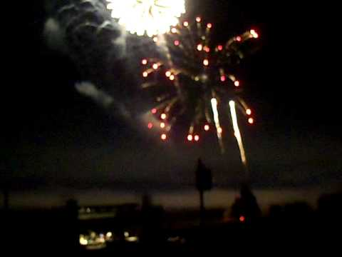 Fireworks display Antietam National Battlefield July 3 2010  10 minutes part 2 of 2